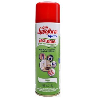 Desinfetante Lysoform Spray Fresh 300ml