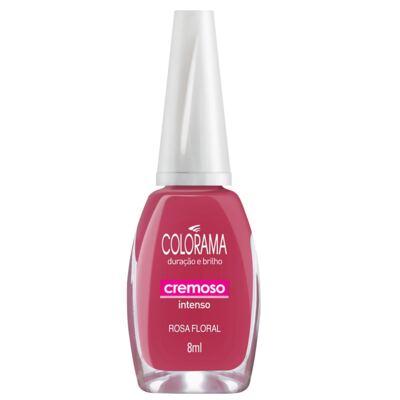 Esmalte Colorama Cremoso Rosa Floral - 8ml