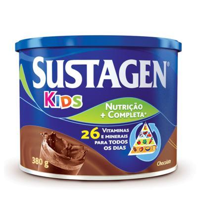 Imagem 1 do produto Suplemento Alimentar Sustagen Kids Chocolate 380g