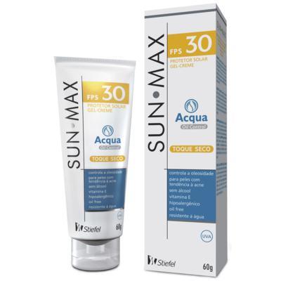 Protetor Solar Sunmax Acqua Oil Control FPS 30 Stiefel 60g