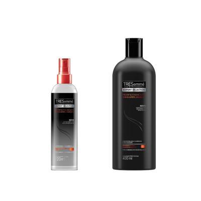 Spray Texturizador Tresemmé Perfeitamente (Des)arrumado 120ml + Shampoo Perfeitamente (Des)arrumado 400ml