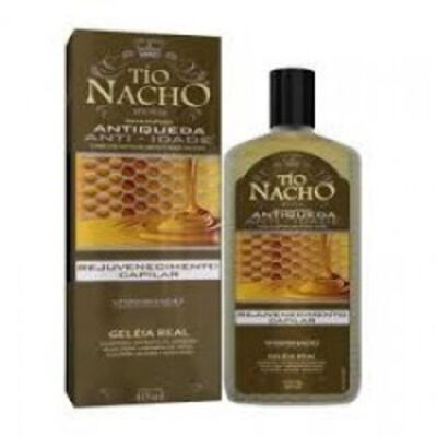 Shampoo Tio Nacho Anti Queda Anti Idade 415ml