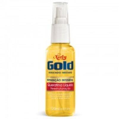 Imagem 1 do produto Queratina Líquida Niely Gold 120ml