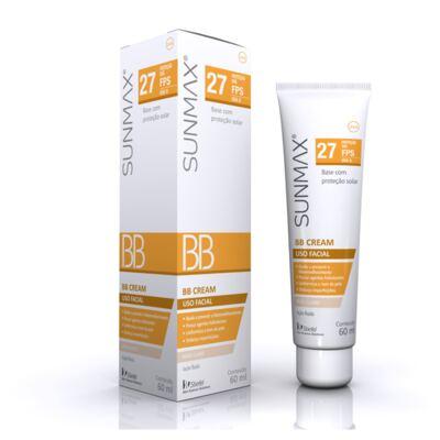 Protetor Solar Sunmax BB Cream Bege Claro Stiefel 60ml