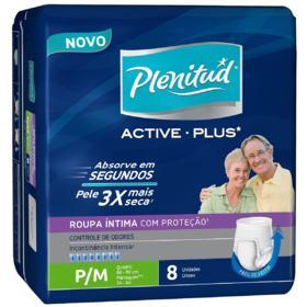 Roupa Íntima Plenitud Protect Plus - P/M | 8 unidades