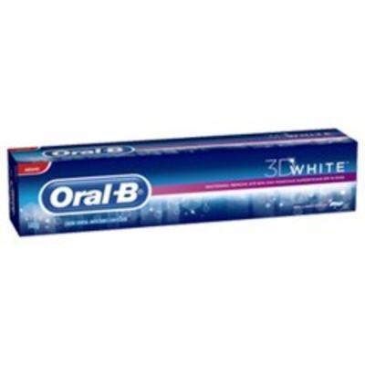 Creme Dental Oral-B 3D White Brilliant Fresh 140g