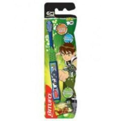 Escova Dental Ben 10 com Protetor de Cerdas