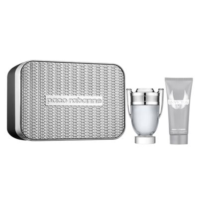 Imagem 1 do produto Invictus Paco Rabanne - Masculino - Eau de Toilette - Perfume + Gel de Banho - Kit