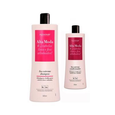 Shampoo + Condicionador Alta Moda Liss Extreme 300ml