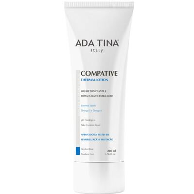 Imagem 1 do produto Compative Thermal Lotion Ada Tina - Tônico Facial Termal e Demaquilante - 200ml