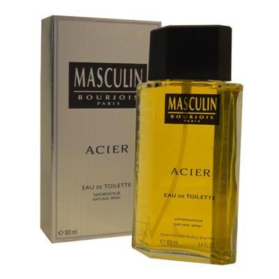Imagem 1 do produto Masculin Acier Bourjois - Perfume Masculino - Eau de Toilette - 100ml