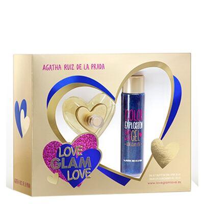 Imagem 1 do produto Love Glam Love Agatha Ruiz de La Prada - Feminino - Eau de Toilette - Perfume + Gel de Banho - Kit