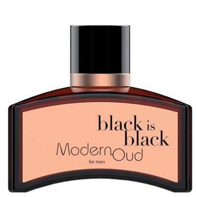 Imagem 1 do produto Black is Black Modern Oud Nu Parfums - Perfume Masculino - Eau de Toilette - 100ml