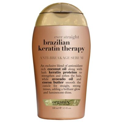 Imagem 1 do produto Organix Ever Straight Brazilian Keratin Therapy - Soro Antifrizz - 100ml