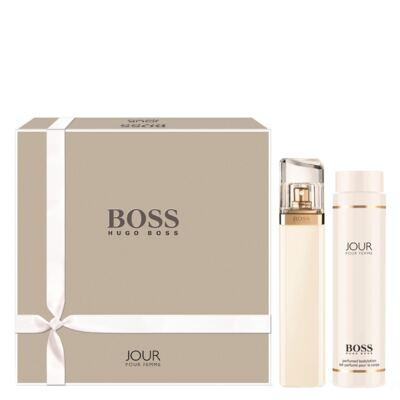Imagem 1 do produto Boss Jour pour Femme Hugo Boss - Feminino - Eau de Parfum - Perfume + Loção Corporal - Kit
