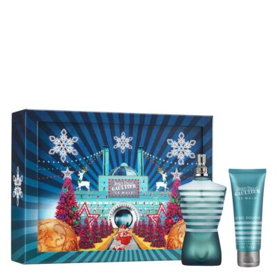 Imagem 1 do produto Perfume Le Male Jean Paul Gaultier - Masculino - Eau de Toilette - Perfume + Gel de Banho - Kit
