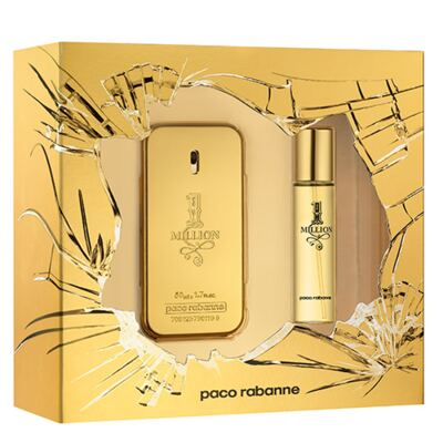 1 Million Paco Rabanne - Masculino - Eau de Toilette - Perfume + Edt - Kit