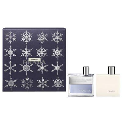 Imagem 1 do produto Prada Amber Pour Homme Prada - Masculino - Eau de Toilette - Perfume + Loção Pós Barba - Kit
