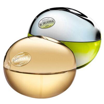 Imagem 1 do produto Duo Be Delicious e Golden Delicious DKNY - Feminino - Eau de Parfum - Kits de Perfumes - 2 x 30ml