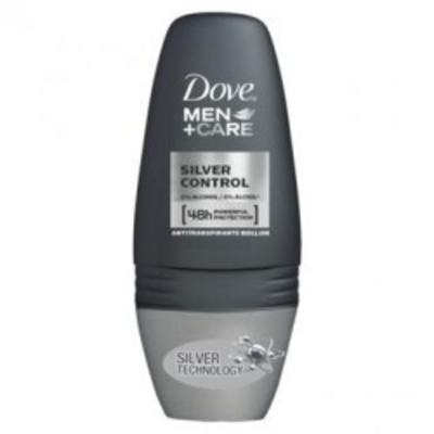 Dove Desodorante Roll-On - Men Care Silver Control | 50ml
