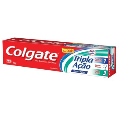 Creme Dental Colgate 90g Tripla Ação