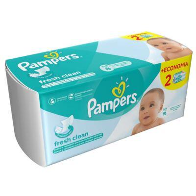Imagem 1 do produto Lencinhos Umedecidos Pampers Fresh Clean 96 Unidades