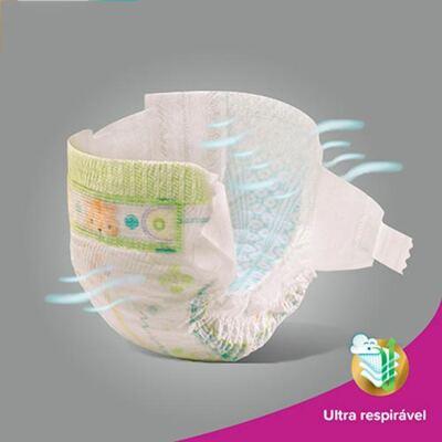 Imagem 45 do produto Kit 3 Fraldas Pampers Premium Care Mega M 144 Unidades
