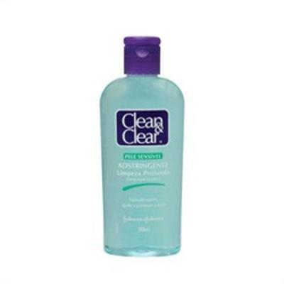 Adstringente Facial Johnson´s Clean & Clear Pele Sensível 200ml