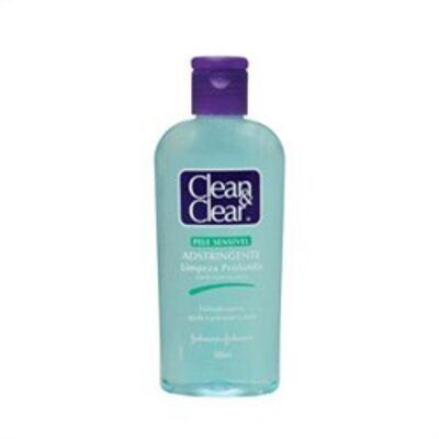 Imagem 1 do produto Adstringente Facial Johnson´s Clean & Clear Pele Sensível 200ml