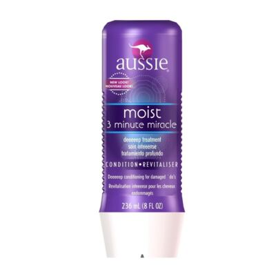 Imagem 35 do produto Aussie Moist Shampoo 400ml + Aussie Moist Tratamento Capilar 3 Minutos Milagrosos 236ml