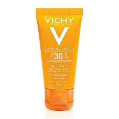 Imagem 3 do produto Protetor Solar Vichy Capital Soleil Toque Seco FPS30 50g