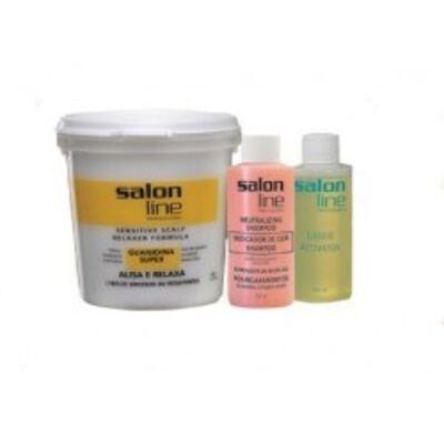 Imagem 2 do produto Salon Line Guanidina Super Cabelos Grossos E Resistentes 218g