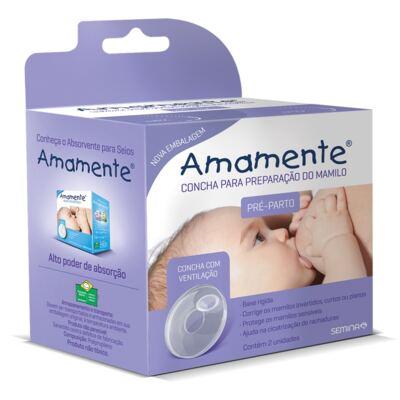 Imagem 1 do produto Conchas para Preparação do Mamilo Amamente