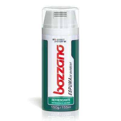 Espuma de Barbear Bozzano Refrescante - 190g