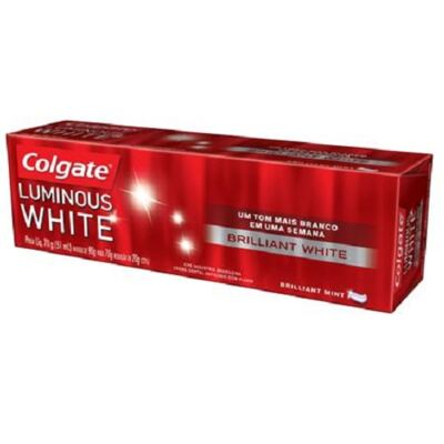 Imagem 1 do produto Creme Dental Colgate Luminous White Esmalte Brilhante 70g