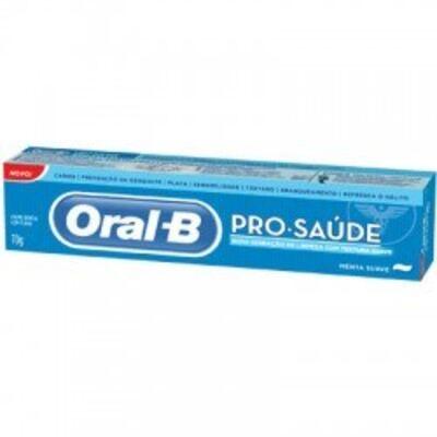 Creme Dental Oral-B Pro Saúde Menta Suave 70g