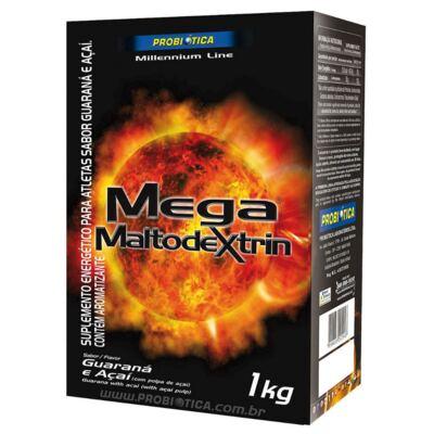 Imagem 6 do produto Kit Creatina Monohidratada 120 Cápsulas + Mega Maltodextrin Guaraná e Açaí 1kg + Barra Trio Pro 30 Vit Chocolate 33g