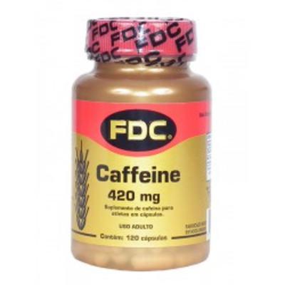 Caffeine FDC - 420mg   120 cápsulas