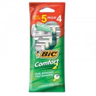 Aparelho de Barbear Bic - Comfort Twin | 5 unidades | Leve 5 Pague 4