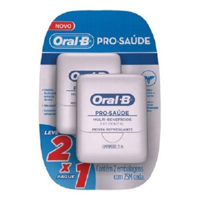 Kit Fio Dental Oral B Pró Saúde 25M 2 Unidades