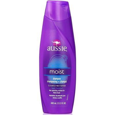 Imagem 4 do produto Aussie Moist Shampoo 400ml + Aussie Smooth Tratamento Capilar 3 Minutos Milagrosos 236ml