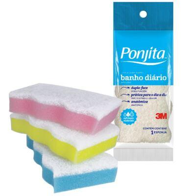 Imagem 1 do produto Esponja de Banho Ponjita 3M Diário