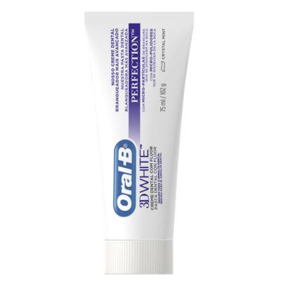Imagem 2 do produto Creme Dental Oral B 3d White Perfect 75g