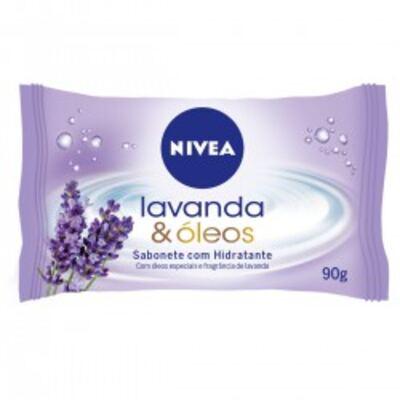 Imagem 1 do produto Sabonete em Barra Nivea Lavanda e Óleos 90g