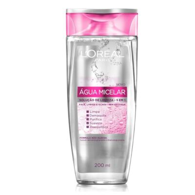 Imagem 2 do produto Kit L'oréal água Micelar 5 Em 1 200ml + Creme Antissinais Idade Expert 35+ 40ml
