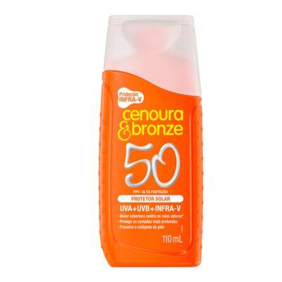 Imagem 2 do produto Kit Cenoura & Bronze Protetor Solar Fps 50 200ml + Protetor Fps 50 110ml