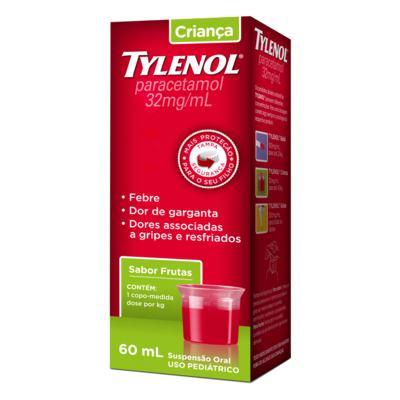 Imagem 1 do produto Tylenol Criança 160Mg/5Ml 60Ml Suspensão -