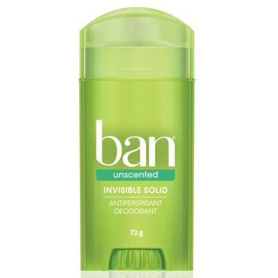 Imagem 1 do produto Desodorante Stick Ban Unscented Sem Perfume 73g