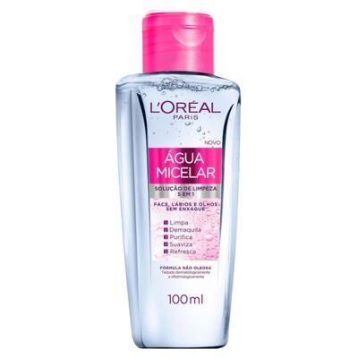 Imagem 1 do produto Solução de Limpeza Facial L'Oréal Água Micelar 100ml