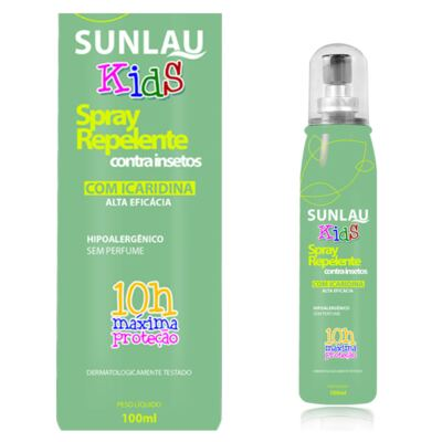 Repelente Sunlau com Icaridina Kids Spray 100ml